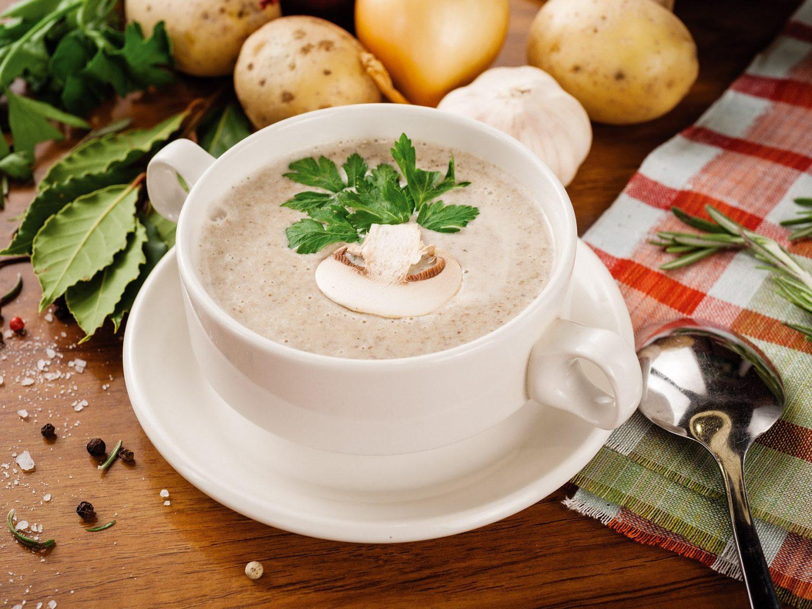 Грибной крем-суп вкусные рецепты