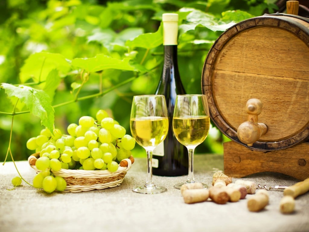Рецепт замороженного «Пьяного винограда»