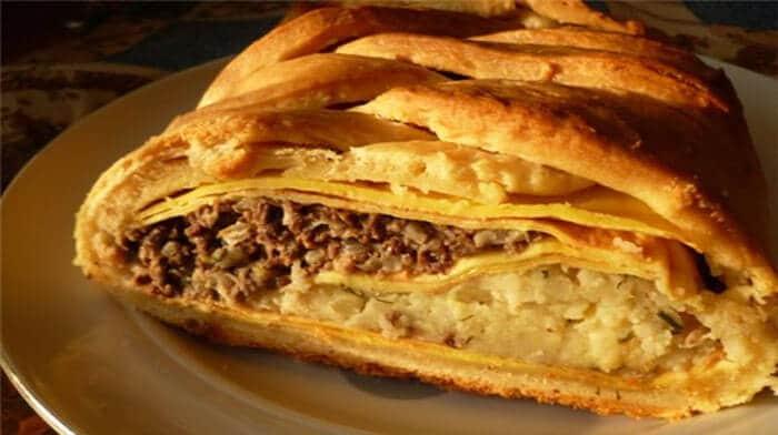 Рецепт тесто на кулебяку