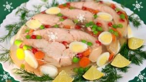 Заливное из рыбы и морепродуктов рецепты