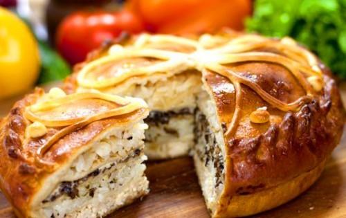 Курник — царь русских пирогов рецепты