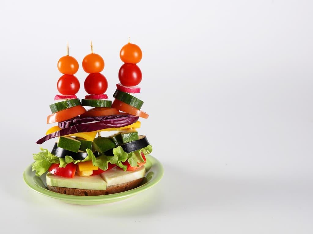 Овощной «Цветной» салат вкусный рецепт