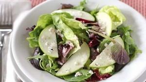 Постный салат из яблок и орехов рецепты салатов